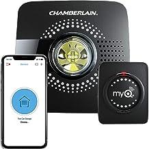 Chamberlain Group myQ Smart Garage Door Opener Chamberlain MYQ-G0301 - Wireless and Wi-Fi enabled Garage Hub with Smartphone Control