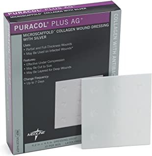 Puracol Plus AG Collagen Wound Dressing