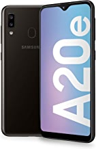 "Samsung Galaxy A20e 5,8 "", ?cran 32 GB extensible, 3 GB de RAM, Batterie 3000 mAh, 4G, smartphone double carte SIM, Android 9 Pie, (2019) [version italienne], noir"
