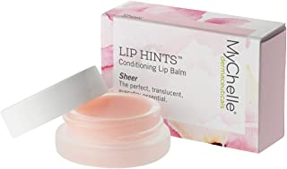 MyChelle Lip Hints Conditioning Lip Balm, 4-in-1 Lip Treatment to Nourish and Hydrate, Sheer, 0.2 fl oz