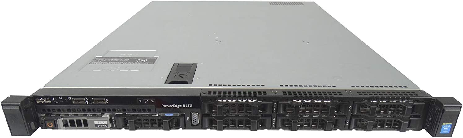 Dell PowerEdge R430 Albuquerque Mall 8 Bay SFF 1U Rapid rise 2X V4 E5-2697A Server 1 2.6GHz