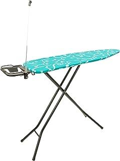 MaxxHome 21186 Table à Repasser Saphir, Bleu, 125 x 33 cm