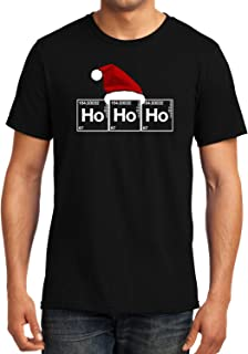 GeekDawn Graphic Printed T-Shirt|HOHOHO|Christmas T-Shirt|Funny Quote T-Shirt|Geek T-Shirt|Santa Claus T-Shirt|Half Sleeve T-Shirt|Round Neck T-Shirt|100% Cotton T-Shirt|Gift|Gifting