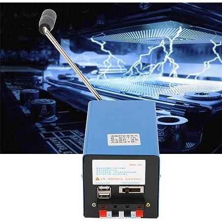 generador de manivela generador de manivela port/átil suministros de generador en miniatura herramientas para viajes de campo Generador de manivela de 2000 rpm para carga USB