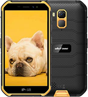 Ulefone Armor X7 Rugged Phones Unlocked 4G, Waterproof Rugged Smartphones Unlocked 5'' HD 2GB+16GB (SD Card Up to 128G) Du...