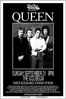 Raw Sugar Art Studio Queen 1980 Cleveland Concert Poster