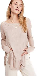 Free People North Shore Thermal TOP (Sand)