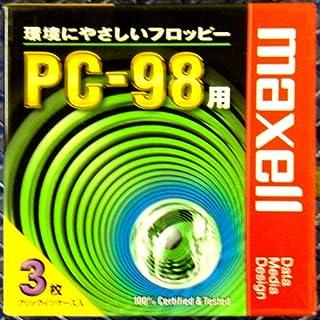 マクセル 3.5インチ 2HD フロッピーディスク NEC PC-98用MS-DOSフォーマット(98フォーマット) 済 MFHD8.C3P