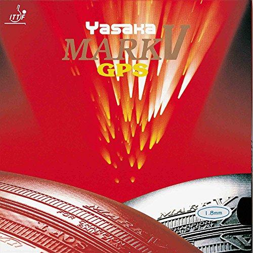 Yasaka Belag Mark V GPS Optionen 1,5 mm, rot