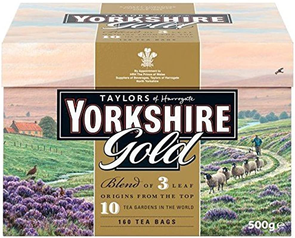 Taylors Of Harrogate Yorkshire Gold 160 Teabags