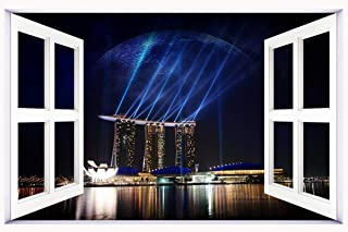 marina_bay_sands_singapore-wide wallpaper wall stickers wall murals quote printing art vinyl decal sticker