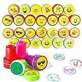 36 Sellos Emoji | Diseños Variados De Juguetes Premios Y Recompensas En El Aula | Rellenos Bolsos Para Fiestas Infantiles, Piñata, Cumpleaños Niños Niñas | Halloween Regalos Niño Piñata Fiesta