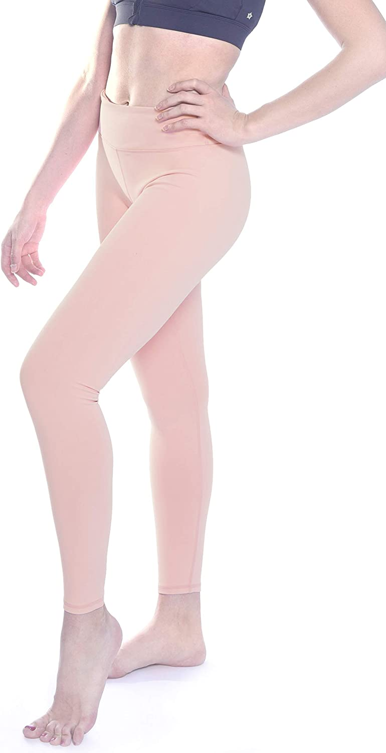 SPRING SEAON High Waisted Yoga Pants for Women Leggings Pants with Pockets Workout Tummy Control Power Flex Yoga Capri