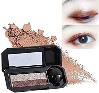 Aaiffey Dual-Color Eyeshadow, Waterproof Eyeshadow Highly Pigmented Eyeshadow with Exquisite Glitters and Smooth Texture, Long Lasting For Eye Makeup