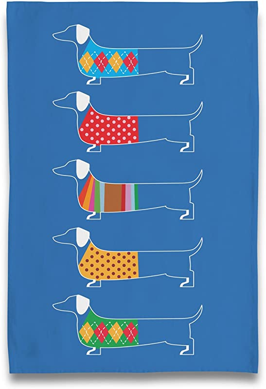 Naked Decor New Dachshund Sweater Tea Towel