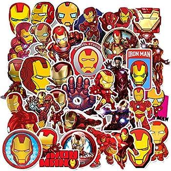 Eqmzad Iron Man Stickers for Kids