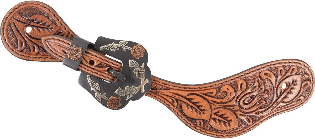 Cashel In a popularity Company Natural Spur Straps and Buckles Guns Ranking TOP12 with Roses