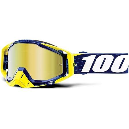 100 Racecraft Navy Weiß Erwachsene Bibal Brilles W Gold Spiegel Linse Auto