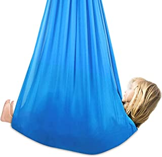 Indoor Swing for Kids Room for Kids with Special Needs (Hardware Included) Cuddle Hammock for Autism, ADHD, Asperger's Syn...