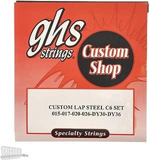 GHS Electric Lap Steel Strings C6 Tuning 15-36