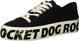 [Rocket Dog] Women's Milkyway Renn Cotton/Rd Foxing Sneaker [並行輸入品]