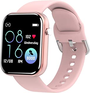 """Smart Watch Fitness Tracker with Blood Pressure Monitor Heart Rate Monitor for Android Phones iPhone Compatible, 1.54"""" IP67 Waterproof Activity Tracker for Women Men Sleep Monitor Medical Alarm"""