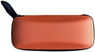 Orange Vikenner Portable Hard Zipper Glasses Case Box Eye Glasses Sunglasses Carry Bag for Men Women Travel