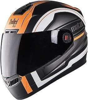 Steelbird SBA-1 Metal/Matt Black/Fluo Orange/Smoke Visor 600mm