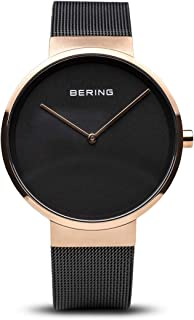 BERING Unisex Analogue Quartz Watch with Stainless Steel Strap