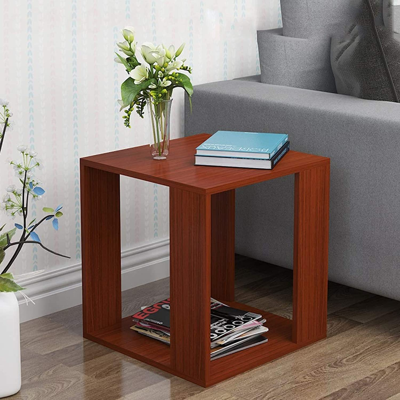 GJM Shop Bedside Table Modern Open Style Storage Cabinet Bedside Cabinet (color   3, Size   60  60  43cm)