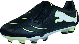 Powercat 2.10 FG Boys Leather Soccer Boots/Cleats