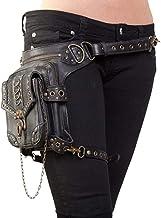UIYTR Halloween Steampunk Retro Motorcycle Bag Lady Bag Retro Rock Gothic Goth Shoulder Waist Bags Packs