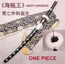 AIT Collectibles S4162 ONE Piece Trafalgar Law Supernova Death Surgeon Sword Black HAMON Edge 41