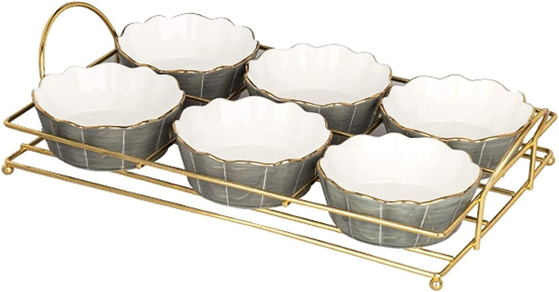 sauce dishes Seasoning Dish 6pcs Dip latest Se Nashville-Davidson Mall Condiments Bowls Ceramic