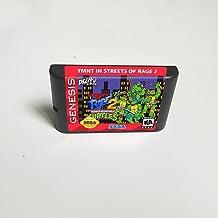 Lksya Turtles in Streets Of Rage 2- carte de jeu MD 16 bits pour cartouche de console de jeu vidéo Sega Megadrive Genesis...