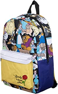 Disney Beauty & the Beast Sublimated Backpack