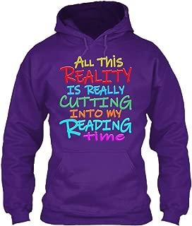 teespring Men's Reality in My. - Sweatshirt - Gildan 8Oz Heavy Blend Hoodie