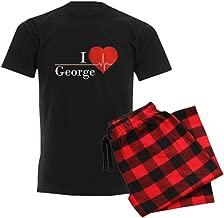 CafePress I Love George Pajama Set