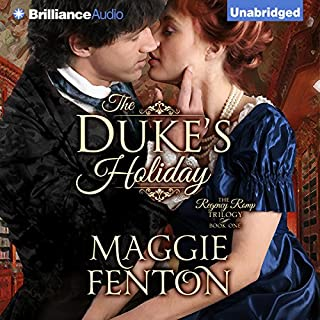 The Duke's Holiday audiobook cover art