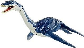 Jurassic World Plesiosaurus Savage Strike Dinosaur Action Figure, Smaller Size, Attack Move Iconic to Species, Movable Arm...