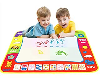 Doodle Mat, Large Aqua Magic Water Drawing Mat for Kids Painting Writing Pad Educational Learning Toys 80cm X 60cm