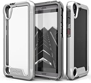 HTC Desire 530 Case, Zizo [ION Series] with Free [HTC Desire 530 Screen Protector] Transparent Clear [Military Grade Drop Tested] HTC Desire 550/555
