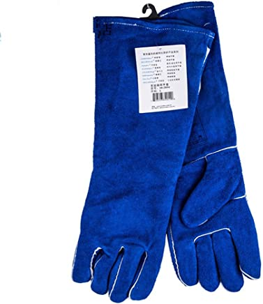 YXLAB Gloves Long Lined Welders Gauntlets Heat Resistance Anti-Scratch Cut Resistant Perfect Choice of