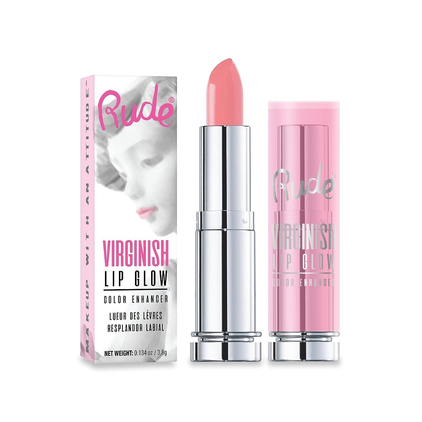真鍮アクセス隣接するRUDE Virginish Lip Glow Color Enhancer (並行輸入品)