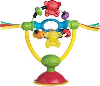 Playgro High Chair Spinning Activity & Amusement Toy, Yellow [PG0182212]