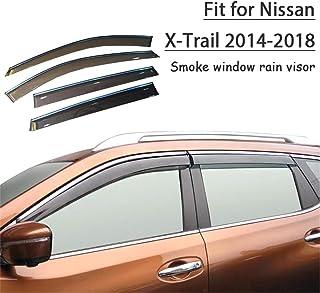 4 Piezas J/&J AUTOMOTIVE J/&J Deflectores de Viento para Nissan X-Trail T30 2001-2007