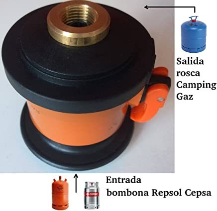 Com Gas AC-1 - Adaptador para aparatos de camping y bricolaje para botella,
