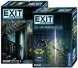 """Exit Kosmos Spiele 694036 - Gioco di carte """"villa"""" + Kosmos Spiele 692681, con 2 giochi Escape Room per la casa"""