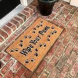 Tar Heel MarketPlace Mats New Natural Coir Non Slip Wipe Your Paws Floor Entrance Door Mat Indoor/Outdoor
