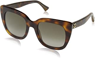 نظارات شمسية تصميم عين القطة للنساء من غوتشي، هافانا، GG0163S